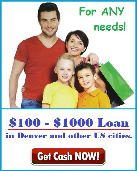 Get a loan in Denver